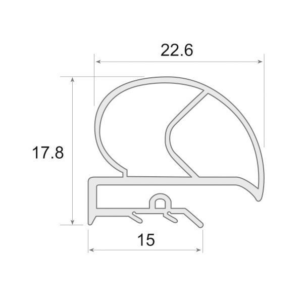 UR-765 - Burletes en PVC...