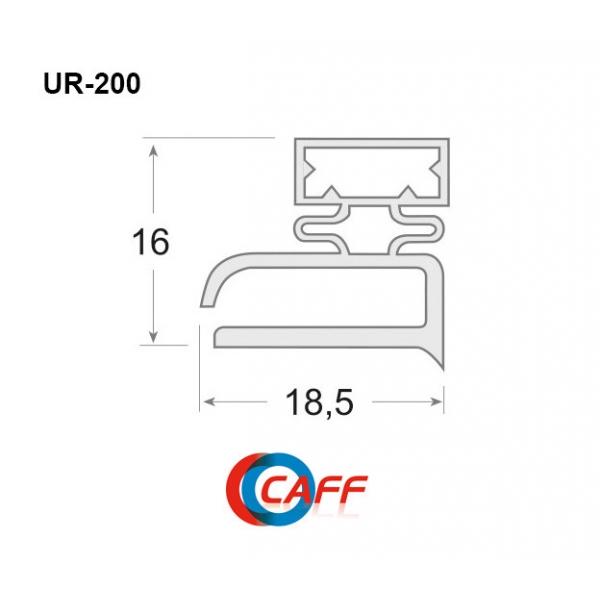 UR-200 - Burlete PVC blando...