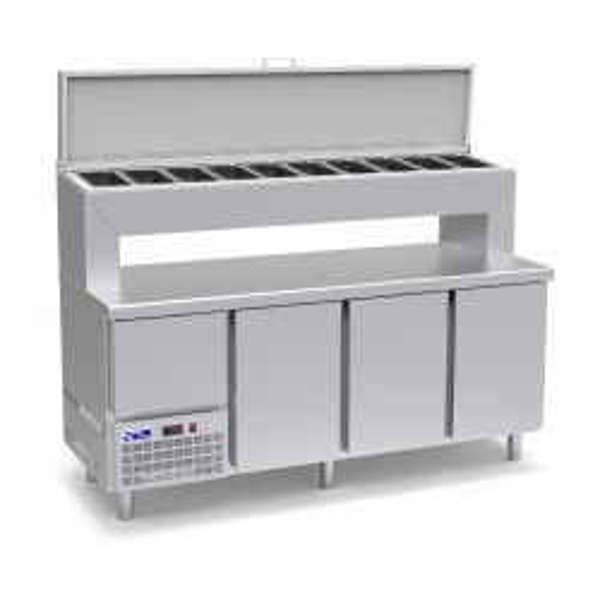 Mesa refrigerada Gatsronorm...